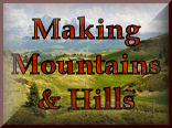 Making Your Own Mountains & Hills for your model train set landscaping and model railroading experience at KraftTrains.com.