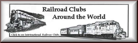 Kraft Trains railroading clubs around the world logo