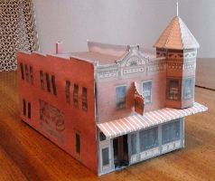 Free 3D Printable Coffee Shops & Restaurants HO Scale Model
